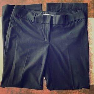 LOFT Black Wide Leg Dress Trousers